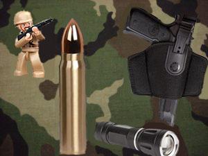 Katonai- és vadászfelszerelések
